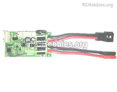 Subotech BG1525 Receiver board and Circuit board Parts. DZDB04